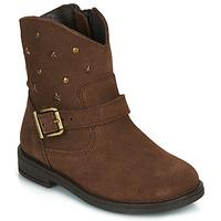 鞋子 女孩 短筒靴 Citrouille et Compagnie NESTI 棕色