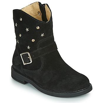 鞋子 女孩 短筒靴 Citrouille et Compagnie NESTI 黑色