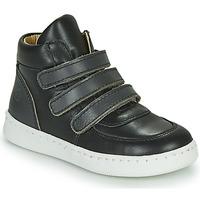 鞋子 男孩 高帮鞋 Citrouille et Compagnie NOSTI 黑色 / 灰色