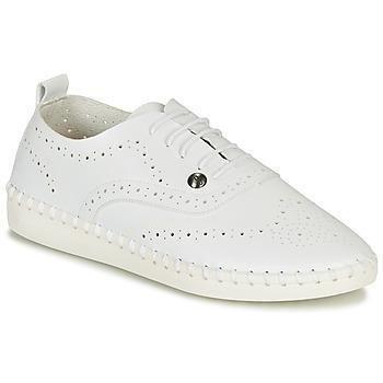 鞋子 女士 帆布便鞋 Les P'tites Bombes DIVA 白色