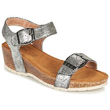 鞋子 女士 凉鞋 Les P'tites Bombes NARCISS 银灰色