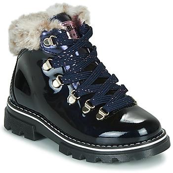 鞋子 女孩 短筒靴 Pablosky 489629-J 蓝色