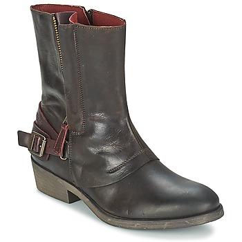 鞋子 女士 短筒靴 Kickers AMERIKO 棕色