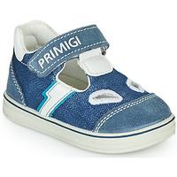 鞋子 男孩 凉鞋 Primigi  蓝色