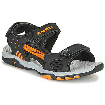 鞋子 男孩 运动凉鞋 Kangaroos K-Celtic 黑色 / 橙色
