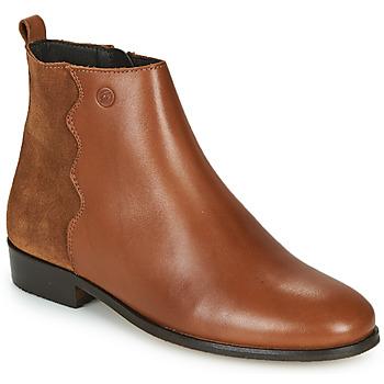 鞋子 女士 短筒靴 Betty London HELOI 驼色