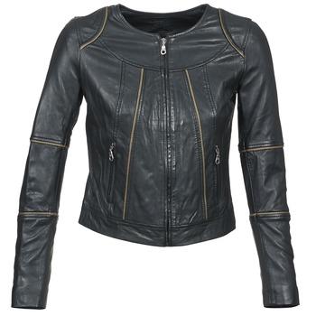 衣服 女士 皮夹克/ 人造皮革夹克 Kookai VIDITE 黑色