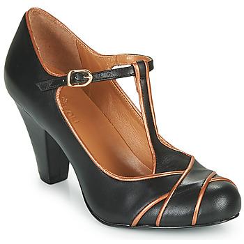 鞋子 女士 高跟鞋 Cristofoli MESTIS 黑色 / 古銅色