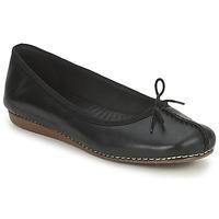鞋子 女士 平底鞋 Clarks 其樂 FRECKLE ICE 黑色