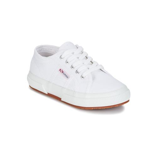 鞋子 儿童 球鞋基本款 Superga 2750 KIDS 白色