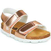 鞋子 女孩 凉鞋 Citrouille et Compagnie BELLI JOE 金色