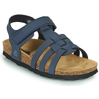 鞋子 男孩 凉鞋 Citrouille et Compagnie JANISOL 蓝色
