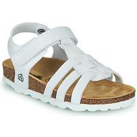鞋子 女孩 凉鞋 Citrouille et Compagnie JANISOL 白色