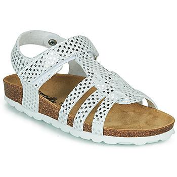 鞋子 女孩 凉鞋 Citrouille et Compagnie MALIA 白色