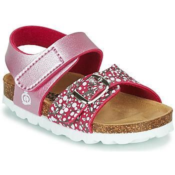 鞋子 女孩 凉鞋 Citrouille et Compagnie MIRTINO 玫瑰色