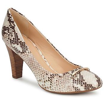 鞋子 女士 高跟鞋 Geox 健乐士 MARIELE POMA 米色