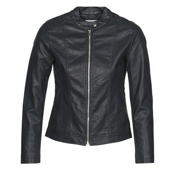 衣服 女士 皮夹克/ 人造皮革夹克 JDY JDYSTORMY 黑色