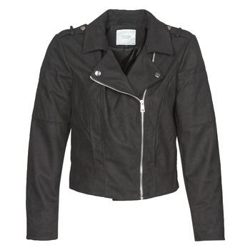 衣服 女士 皮夹克/ 人造皮革夹克 JDY JDYNEW PEACH 黑色
