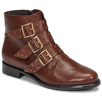 鞋子 女士 短筒靴 Betty London LYS 驼色