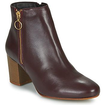 鞋子 女士 短靴 Betty London NILIVE 波尔多红