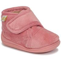 鞋子 女孩 拖鞋 Citrouille et Compagnie HALI Vieux / 玫瑰色