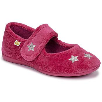 鞋子 女孩 拖鞋 Citrouille et Compagnie LANINOU 波尔多红