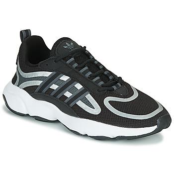 鞋子 球鞋基本款 Adidas Originals 阿迪达斯三叶草 HAIWEE J 黑色 / 灰色