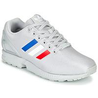 鞋子 球鞋基本款 Adidas Originals 阿迪达斯三叶草 ZX FLUX 灰色