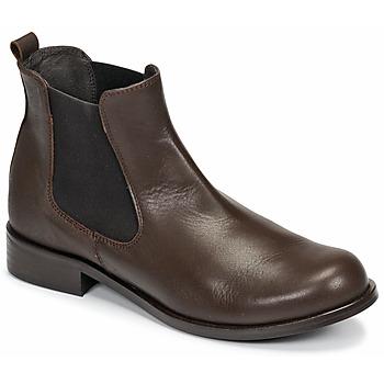 鞋子 女士 短筒靴 So Size NITINE 棕色