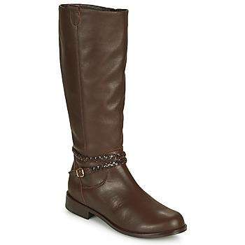 鞋子 女士 都市靴 So Size AURELIO 棕色
