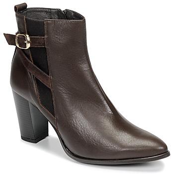 鞋子 女士 短靴 So Size AURELIO 棕色