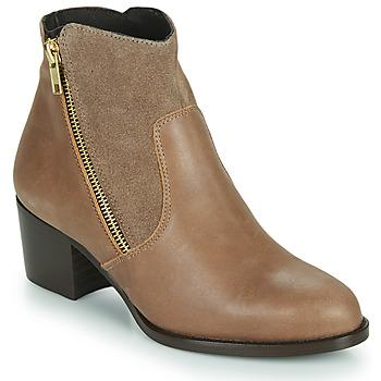 鞋子 女士 短靴 So Size FELICIO 驼色