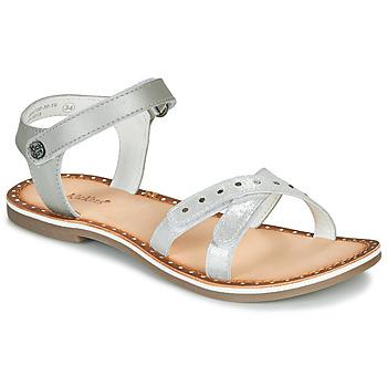 鞋子 女孩 凉鞋 Kickers DIDONC 银灰色
