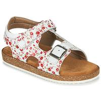 鞋子 女孩 凉鞋 Kickers FUNKYO 白色