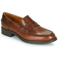 鞋子 男士 皮便鞋 Carlington 卡尔顿 JALECK 棕色