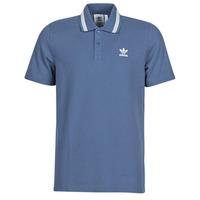 衣服 男士 短袖保罗衫 Adidas Originals 阿迪达斯三叶草 PIQUE POLO 蓝色