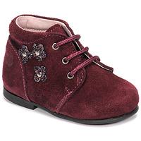 鞋子 女孩 短筒靴 Citrouille et Compagnie NONUP 波尔多红