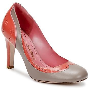 鞋子 女士 高跟鞋 Sarah Chofakian LAUTREC 淡灰色 / Saumon