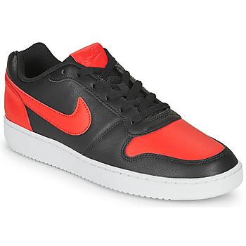 鞋子 男士 球鞋基本款 Nike 耐克 EBERNON LOW 黑色 / 红色