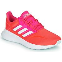 鞋子 女士 球鞋基本款 adidas Performance 阿迪达斯运动训练 RUNFALCON 红色 / 玫瑰色