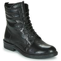鞋子 女士 短筒靴 Mjus PALLY 黑色