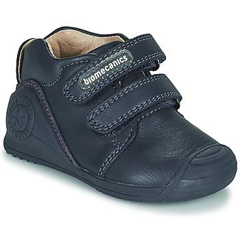 鞋子 儿童 球鞋基本款 Biomecanics BOTIN DOS VELCROS 海蓝色