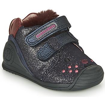 鞋子 女孩 球鞋基本款 Biomecanics BOTIN ELASTICO 海蓝色