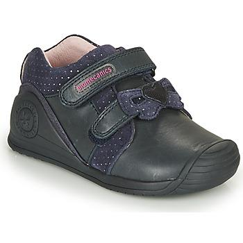 鞋子 女孩 球鞋基本款 Biomecanics BOTIN LAZO 海蓝色