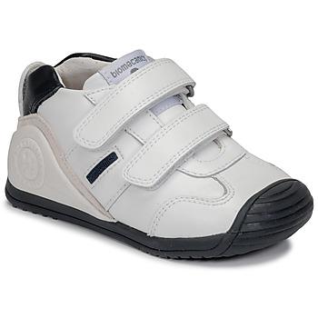 鞋子 男孩 球鞋基本款 Biomecanics BIOGATEO SPORT 白色