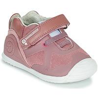 鞋子 女孩 球鞋基本款 Biomecanics ZAPATO ELASTICO 玫瑰色
