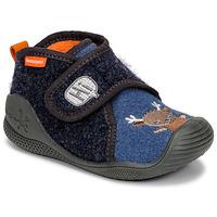 鞋子 儿童 拖鞋 Biomecanics ZAPATILLA TWIN 灰色 / 蓝色