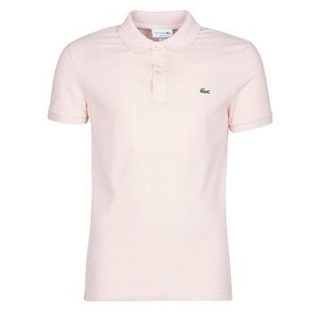 衣服 男士 短袖保罗衫 Lacoste PH4012 SLIM 玫瑰色