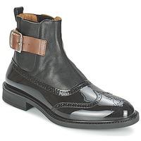 鞋子 男士 短筒靴 Vivienne Westwood BROGUE BOOT 黑色