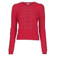 衣服 女士 羊毛衫 Liu Jo MF0156-MA88J 红色